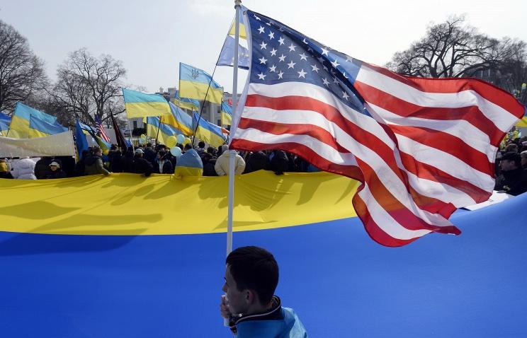 Чем связано сша с украиной