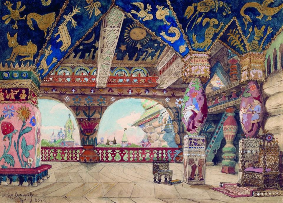 Иван царевич и серый волк в обработке ан толстогожил был царь берендей, у него было три сына, младшего звали